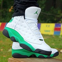 Nike Jordan 13 Lucky Green Basketball Shoes Sneakers