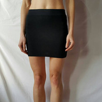 CROP TOP and SKIRT Set Of Two 2 High Waisted High Waisted Mini Tight Skirt And Short Cropped Top Crop Top High Waisted Skirt Mini Skirt