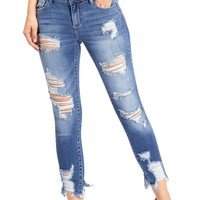 Riot Ankle Skinny Jeans