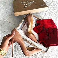 Christian Louboutin Louboutin Fashion Casual High Heels Heel 12cm