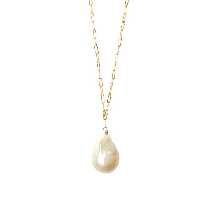 Image of Baroque Pearl Necklace