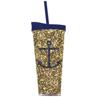 Anchor Tumbler with Straw