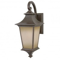 Craftmade Exterior Lighting Argent Small  Outdoor Wall Lantern in Aged Bronze - Z1304-98 - Exterior Lighting - Lighting