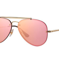 Look who's looking at this new Ray-Ban Blaze Aviator