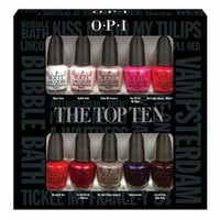 OPI The Top Ten Mini Collection at BeautyBay.com