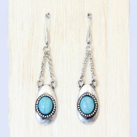 Turquoise Viewpoint Earrings