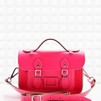The Cambridge Satchel Company Mini Satchel in Neon Pink - Urban Outfitters