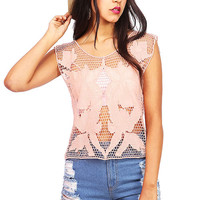 Net Lily Top