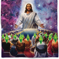 Jesus Died For Your Sims Bandana