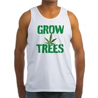 GROW TREES Tank Top> Grow Trees> 420 Gear Stop