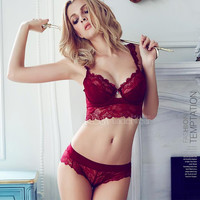 Free shipping 2015 sexy lace bra brief sets loita bra set sexy girl ultra-thin summer bra for women underwear bra set SW1001