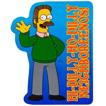 Simpsons - Ned Flanders Decal