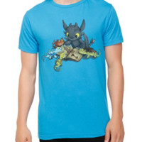 How To Train Your Dragon Story Time T-Shirt