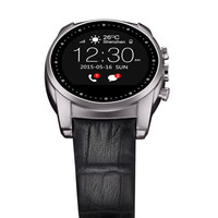 A8 Bluetooth Smart Watch Round Redondo Ronde Smartwatch 3g SIM for Android IOS Heart Rate Monitor Waterproof Reloj Inteligente
