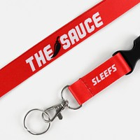 The Sauce Red Lanyard