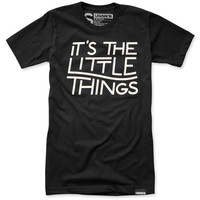 IT'S THE LITTLE THINGS (BLACK)