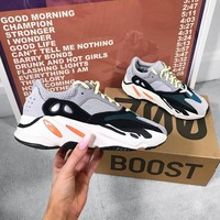 Adidas Yeezy Boost 700 Grey Sneakers