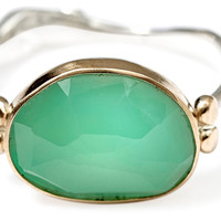 Rose-Cut Chrysoprase Ring, Stone & Novelty Rings