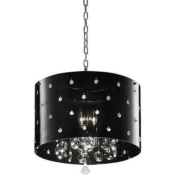 Star Crystal Ceiling Lamp,Ceiling Light Fixtures,Metal, by OK Lighting