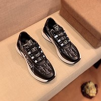 DIOR Men Fashion Boots fashionable Casual leather Breathable Sneakers Running Shoes-96