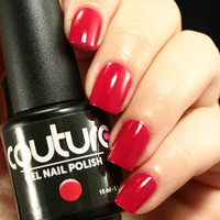 Glamorous Red Cream Polish - The Best Red Gel Nail Polish