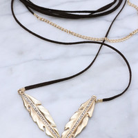Spiritguide Feathers Flight Necklace