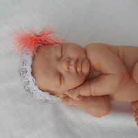 Baby Hairband: Baby headband, Photography Prop, coming home, original, Baby and toddler, girl, Made to order