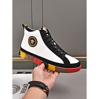 Versace men's New Fashion Casual Shoes Sneaker Sport Running Shoes 09159