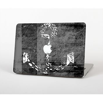 """The Smudged White and Black Anchor Pattern Skin for the Apple MacBook Air 13"""""""