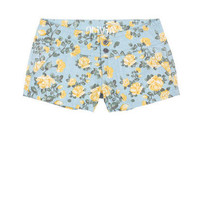 Yellow Posy Floral Short