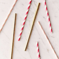 BASH Flamingo Assorted Straws Set | Urban Outfitters