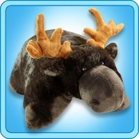 My Pillow Pet Chocolate Moose - Small (Brown)