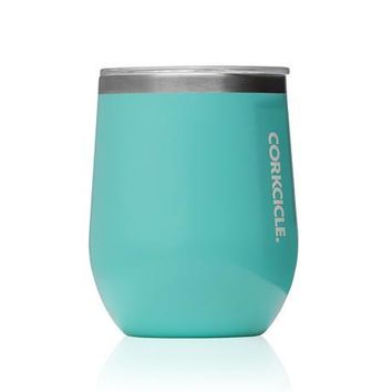 CORKCICLE 12 oz. Stemless Tumbler - Turquoise