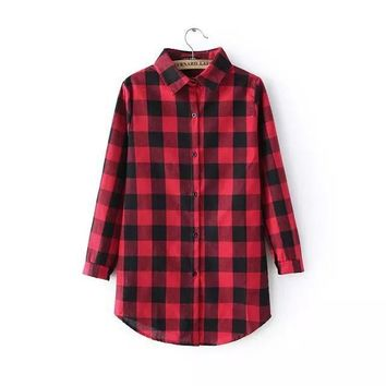 Summer Plaid Shirt [8173375879]