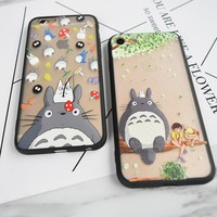 Totoro & No Face Phone Case