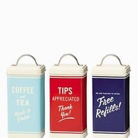 diner canisters