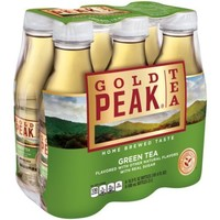Gold Peak Tea Green Tea, 16.9 fl oz, 6 pack - Walmart.com