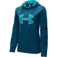 UNDER ARMOUR Women's Big Logo Applique Pullover Hoodie