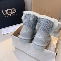UGG new women's low-luxury short snow boots