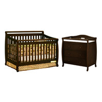 AFG International Furniture Amy 3-in-1 Convertible Crib Set