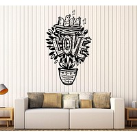 Vinyl Wall Decal Love Nestling Romantic Home Decor Stickers Mural Unique Gift (349ig)