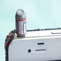 Budweiser beer phone plug