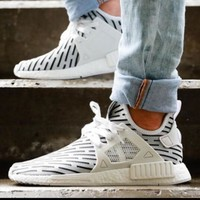 """""""Adidas"""" NMD XR1 PK Fashion Unisex Comfortable Stripe Camouflage Running Sport Shoes Sneakers I"""
