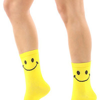 *Accessories Boutique The Smiley Sock