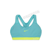 Nike Sports Bra Nike Pro Padded Classic Sports Bra Blue 589420