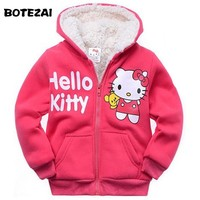 2017  Hello Kitty Winter fur coat