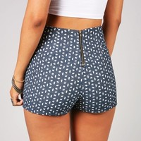 Speckled High Waist Shorts | Retro Shorts at Pink Ice