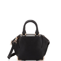 Alexander Wang Mini Emile Prisma Skeletal Tote Bag, Black