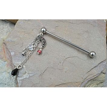 Moon and Star Industrial Barbell