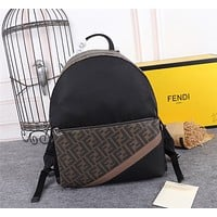 Fendi Shoulder Bag Lightwight Backpack Womens Mens Bag Travel Bags 34-14-38CM